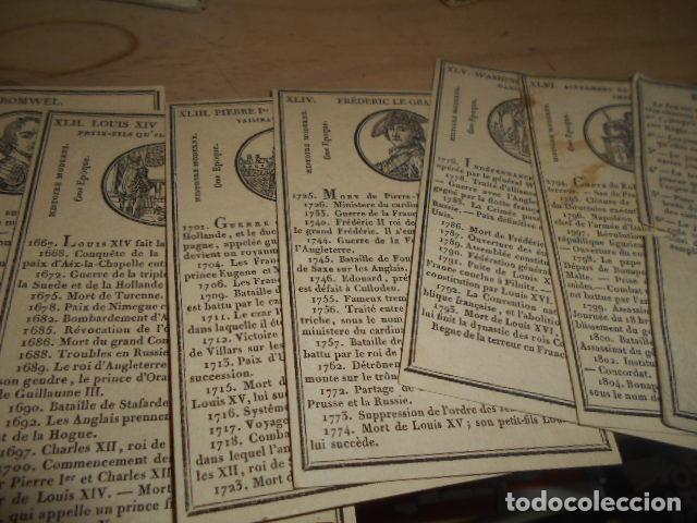 Barajas de cartas: 1811 / Juego de 46 cartas - Foto 6 - 155016774