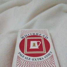 Barajas de cartas: BARAJA,NAIPES,CARTAS DE POQUER,PUBLICIDAD DE CERVEZA INGLESA - WHITBREAD . Lote 155019446
