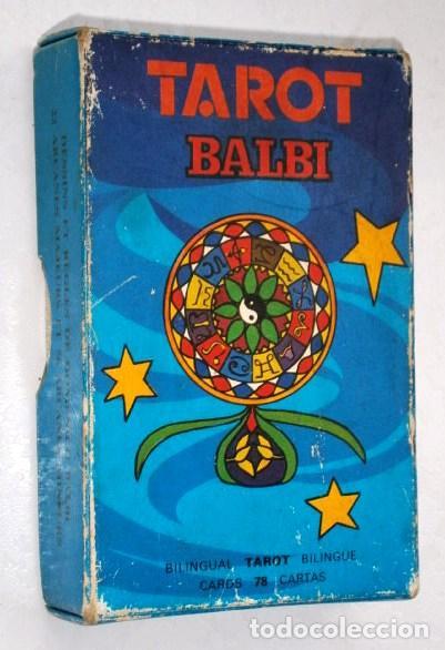 BARAJA DE CARTAS TAROT BILINGÜE POR DOMENICO BALBI DE IMPRENTA HERACLIO FOURNIER / VITORIA (Juguetes y Juegos - Cartas y Naipes - Barajas Tarot)