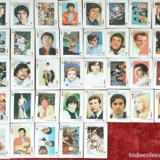 Barajas de cartas: BARAJA DE 37 CARTAS. TELE BANCO CANCIÓN. FONDO AZUL. CIRCA 1970.. Lote 155103730