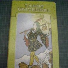 Barajas de cartas: TAROT UNIVERSAL - 22 ARCANOS MAYORES. Lote 155237242