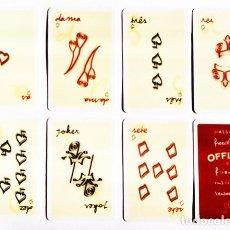 Barajas de cartas: JUEGO DE NAIPES - OFFLEY, PORTO, PUBLICITARIO. Lote 155281346