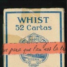 Barajas de cartas: WHIST , CARTAS VIUDA E HIJOS FOURNIER. Lote 155288450