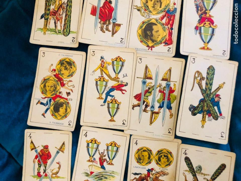 Barajas de cartas: BARAJA DE ESTRELLAS CINEMATOGRAFICAS, CHOCOLATE EVARISTO JUNCOSA, BARCELONA. COMPLETA. AÑOS 20 - Foto 6 - 155323625