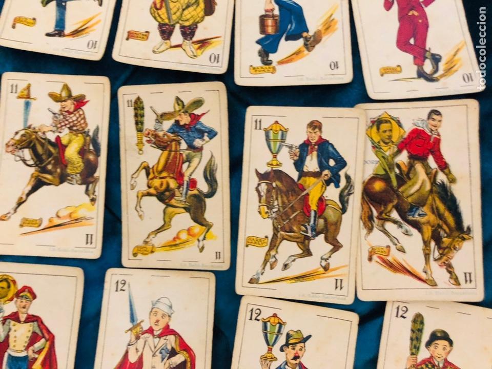 Barajas de cartas: BARAJA DE ESTRELLAS CINEMATOGRAFICAS, CHOCOLATE EVARISTO JUNCOSA, BARCELONA. COMPLETA. AÑOS 20 - Foto 14 - 155323625