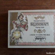Baralhos de cartas: BARAJA DE CARTAS - TRADITIONAL RUSSIAN- FOURNIER. Lote 155378290