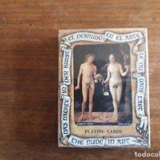 Barajas de cartas: BARAJA DE CARTAS - EL DESNUDO EN EL ARTE- FOURNIER. Lote 155379042