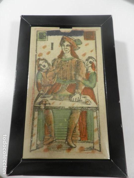 TAROT FLORENTINO MINCHIATE AL LEONE ITALIA SIGLO XVIII - 1790 FASCIMIL, BARAJA PRECINTADA (Juguetes y Juegos - Cartas y Naipes - Barajas Tarot)