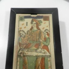 Barajas de cartas: TAROT FLORENTINO MINCHIATE AL LEONE ITALIA SIGLO XVIII - 1790 FASCIMIL, BARAJA PRECINTADA. Lote 202687103