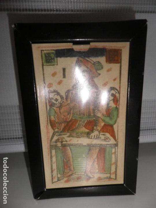 Barajas de cartas: TAROT FLORENTINO MINCHIATE AL LEONE ITALIA SIGLO XVIII - 1790 FASCIMIL, BARAJA PRECINTADA - Foto 2 - 163627604