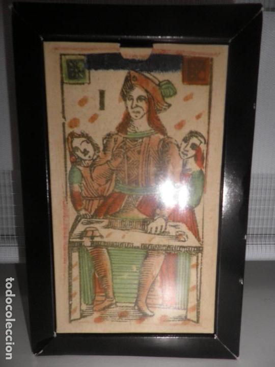 Barajas de cartas: TAROT FLORENTINO MINCHIATE AL LEONE ITALIA SIGLO XVIII - 1790 FASCIMIL, BARAJA PRECINTADA - Foto 3 - 163627604