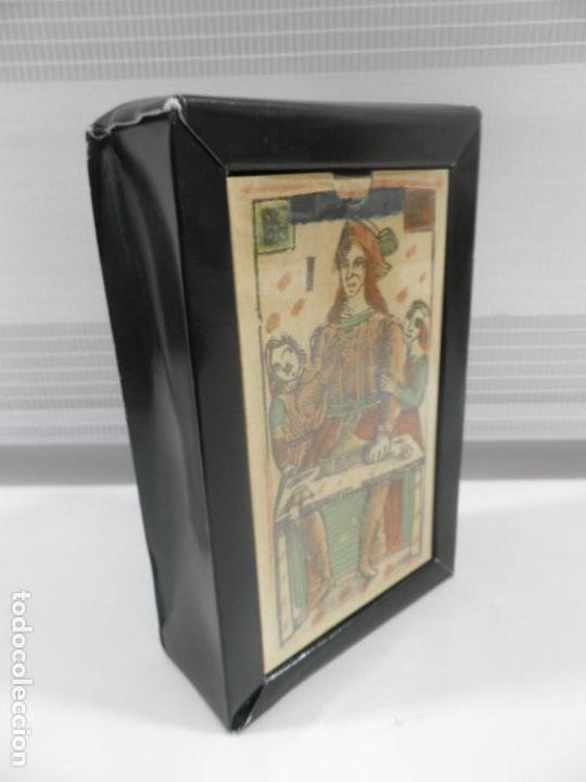 Barajas de cartas: TAROT FLORENTINO MINCHIATE AL LEONE ITALIA SIGLO XVIII - 1790 FASCIMIL, BARAJA PRECINTADA - Foto 7 - 163627604