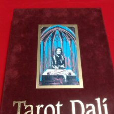 Barajas de cartas: TAROT DALÍ BARAJA CARTAS +LIBRO. Lote 155648990