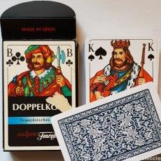 Barajas de cartas: BARAJA DOPPELKOPF FOURNIER. Lote 155759448
