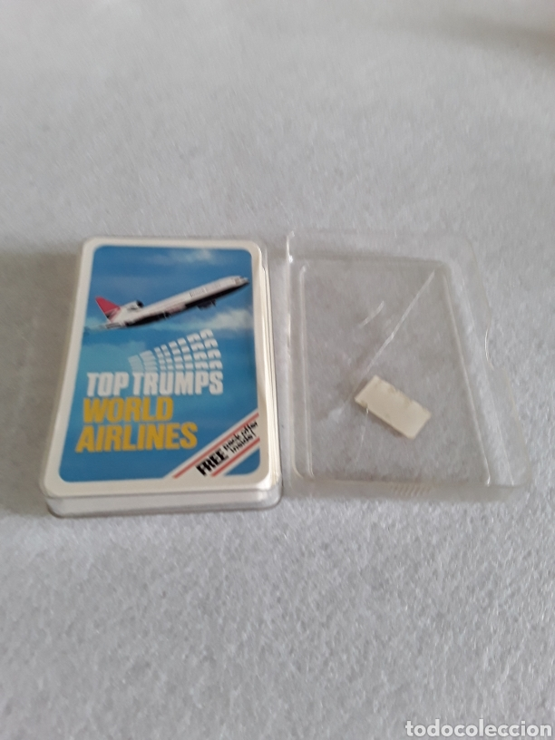BARAJA DE CARTAS TOP TRUMPS WORLD AIRLINES (Juguetes y Juegos - Cartas y Naipes - Otras Barajas)