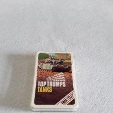 Barajas de cartas: BARAJA DE CARTAS TOP TRUMPS TANKS. Lote 155794237