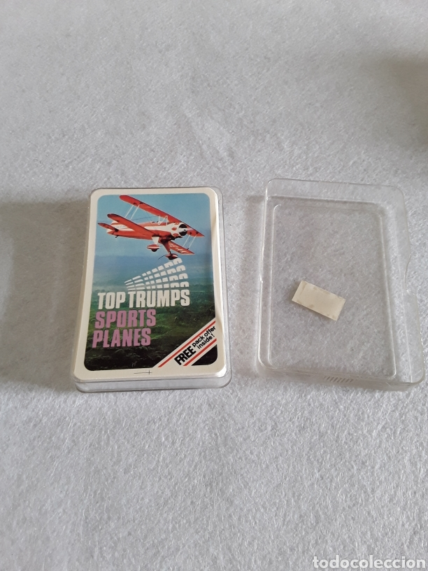 BARAJA DE CARTAS TOP TRUMPS SPORT PLANES (Juguetes y Juegos - Cartas y Naipes - Otras Barajas)
