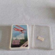 Barajas de cartas: BARAJA DE CARTAS TOP TRUMPS SPORT PLANES. Lote 155794353
