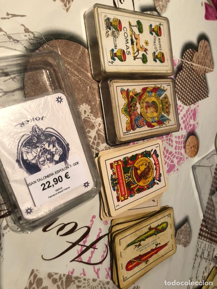 LOTE DE NAIPES ANTIGUAS (Juguetes y Juegos - Cartas y Naipes - Baraja Española)