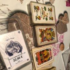 Barajas de cartas: LOTE DE NAIPES ANTIGUAS. Lote 155871384