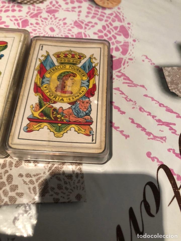Barajas de cartas: Lote de naipes antiguas - Foto 6 - 155871384