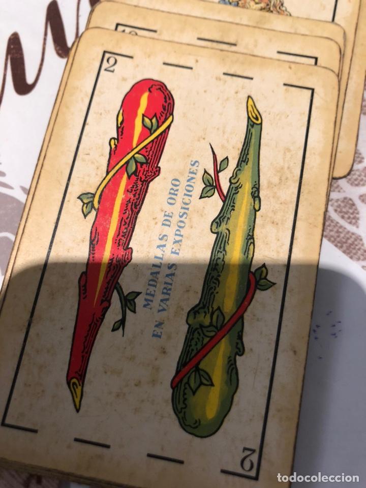 Barajas de cartas: Lote de naipes antiguas - Foto 11 - 155871384