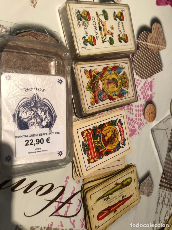 Barajas de cartas: Lote de naipes antiguas - Foto 14 - 155871384