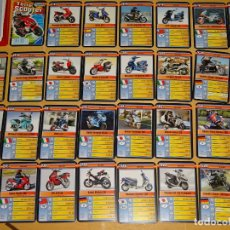 Barajas de cartas: BARAJA DE CARTAS INFANTIL. CUARTETOS. SUPER MOTOS SCOOTER, DERBI PEUGEOT PIAGGIO VESPA 70 GR. Lote 156000706