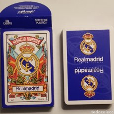 Barajas de cartas: BARAJA FRANCESA 'REAL MADRID'. FOURNIER.. Lote 156004244