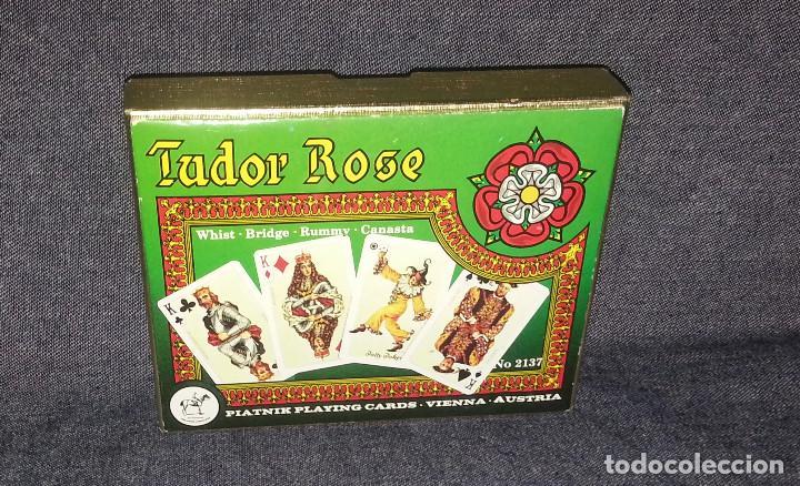 BARAJA DE CARTAS TUDOR ROSE. (Juguetes y Juegos - Cartas y Naipes - Barajas de Póker)