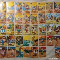 Barajas de cartas: BARAJA CARTAS ASTERIX, EL JUEGO DE LA CIZAÑA, INCOMPLETA (AÑOS 70). Lote 156331062