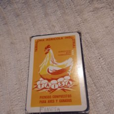 Barajas de cartas: BARAJA CARTAS TAISA TARRAGONA AGRÍCOLA INDUSTRIAL NAIPE ESPAÑOL FOURNIER 48 CARTAS. Lote 156499722