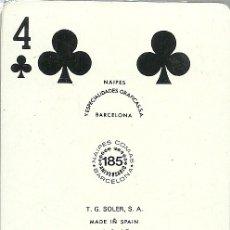 Barajas de cartas: GENERAL OPTICA - BARAJA POKER. Lote 44466691