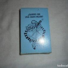 Barajas de cartas: BARAJA.¿QUIERES SER UNA GRAN MUJER?. Lote 156559018