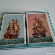 Barajas de cartas: BARAJAS DE CARTAS FRANCESA / PÓKER - BARCOS - EDITOR, H. FOURNIER VITORIA. Lote 156784994