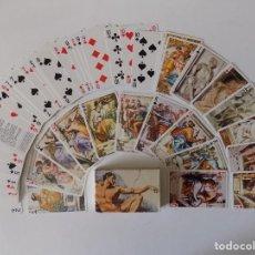 Barajas de cartas: LIBRERIA GHOTICA. BARAJA DE CARTAS DE MIGUEL ANGEL. GRIMAUD 1980. 54 CARTAS.. Lote 156788282
