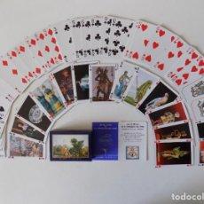 Barajas de cartas: LIBRERIA GHOTICA. BARAJA DE CARTAS JEU DU MUSEE DE LA COMPAGNIE DES INDES.1980.. Lote 156788922