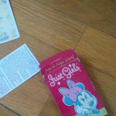 Barajas de cartas: BARAJA DE FOURNIER JUST GIRLS PERSONAJES DISNEY. Lote 156799782