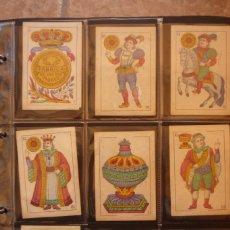 Barajas de cartas: BARAJA DE CARTAS AÑO 1897. M. A. GONZÁLEZ-CÁDIZ. FÁBRICA DE LOS DOS TIGRES. COMPLETA 40 CARTAS NUEVA. Lote 160270425