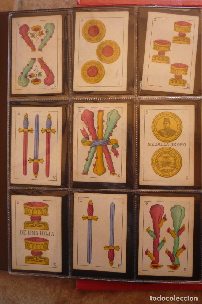 Barajas de cartas: BARAJA DE CARTAS AÑO 1897. M. A. GONZÁLEZ-CÁDIZ. FÁBRICA DE LOS DOS TIGRES. COMPLETA 40 CARTAS NUEVA - Foto 4 - 160270425