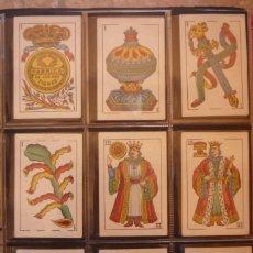 Barajas de cartas: BARAJA DE CARTAS 1934. M. A. GONZÁLEZ-CÁDIZ. FÁBRICA DE LOS DOS TIGRES. COMPLETA 40 CARTAS NUEVA . Lote 156813946