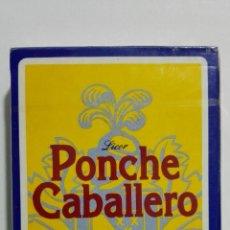 Barajas de cartas: NAIPES FOURNIER, PUBLICIDAD - PONCHE CABALLERO. Lote 156837318