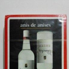 Barajas de cartas: NAIPES FOURNIER, PUBLICIDAD - ANIS DE ANISES CHINCHON DULCE. Lote 156838802