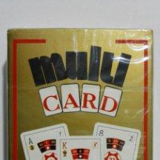 Barajas de cartas: BARAJA DE CARTAS, HERACLIO FOURNIER, MULTI CARD, MULTIPLES APLICACIONES. Lote 156839918
