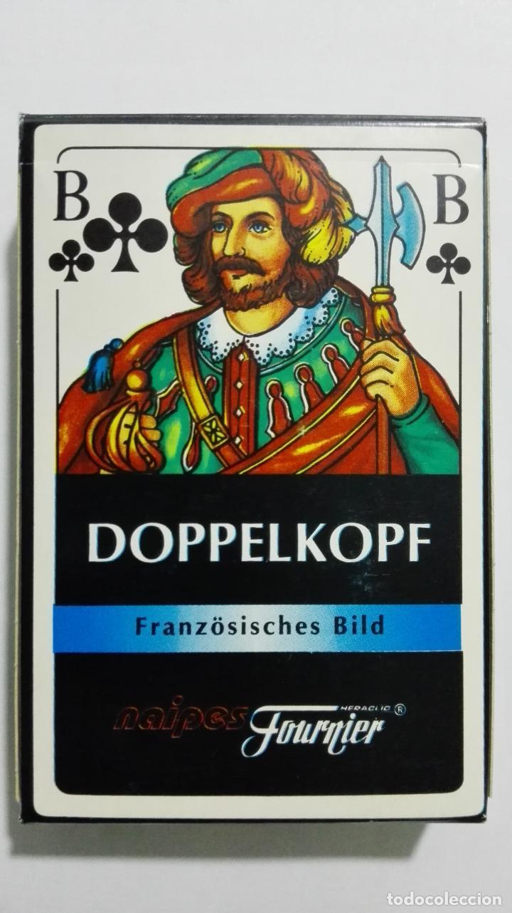 BARAJA DE CARTAS, HERACLIO FOURNIER, DOPPELKOPF (Juguetes y Juegos - Cartas y Naipes - Barajas de Póker)