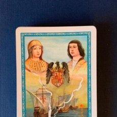 Barajas de cartas: BARAJA CONQUISTAS DE LOS REYES CATÓLICOS. ILUSTRADO E. LOPE.. Lote 156890430
