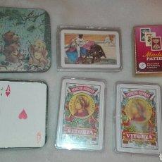 Barajas de cartas: LOTE DE CARTAS, SIETE JUEGOS DE CARTAS.. Lote 156892032