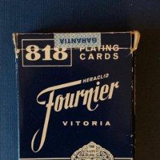 Barajas de cartas: BARAJA HERACLIO FOURNIER Nº 818.. Lote 156892114
