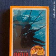 Barajas de cartas: BARAJA ESPAÑOLA CONSERVAS ORTIZ. SIN ABRIR.. Lote 156893114
