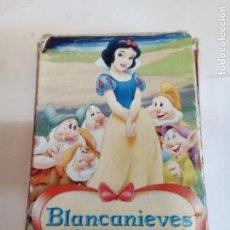 Barajas de cartas: JUEGO DE CARTAS FOURNIER BLANCANIEVES Y LOS 7 ENANITOS 33 CARTAS. Lote 156976410
